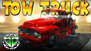 1956 Ford F100 Tow Truck Restoration : Car Mechanic Simulator 2018 Gameplay : PC Lets Play