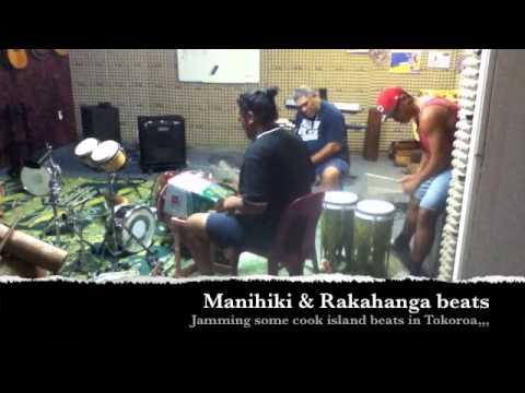 Cook islands Drumming in the garage?????