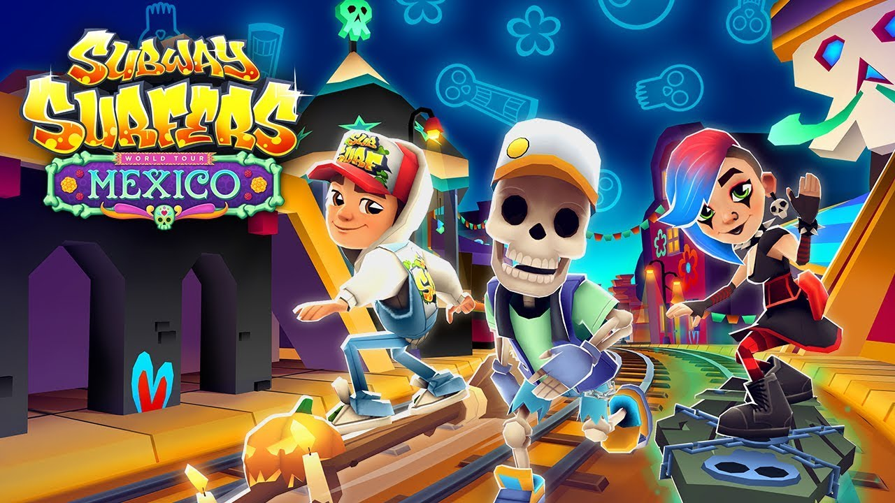 Скачать subway surfers хэллоуин на пк