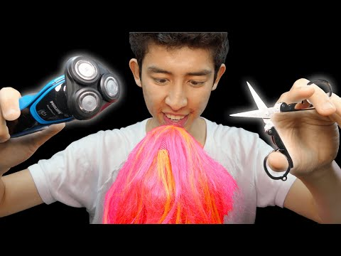 ASMR Ultra RAW Haircut Sounds (NO TALKING)