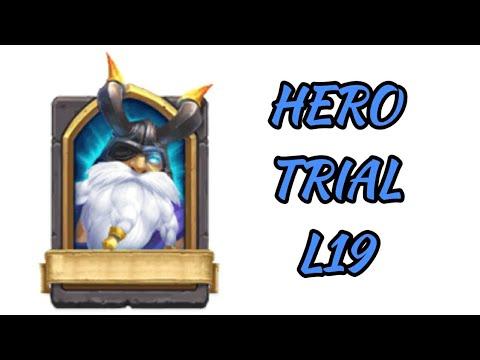 Hero Trial L19 Defeated Castle Clash