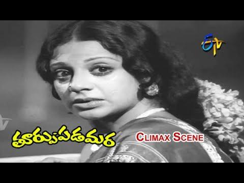 Thoorpu Padamara Telugu Movie   Climax Scene   Narasimha Raju   Srividya   Madhavi   ETV Cinema