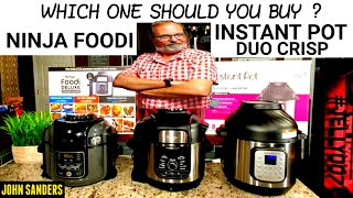 INSTANT POT DUO CRISP or NINJA FOODI | WHICH ONE IS BEST FOR YOU TO BUY