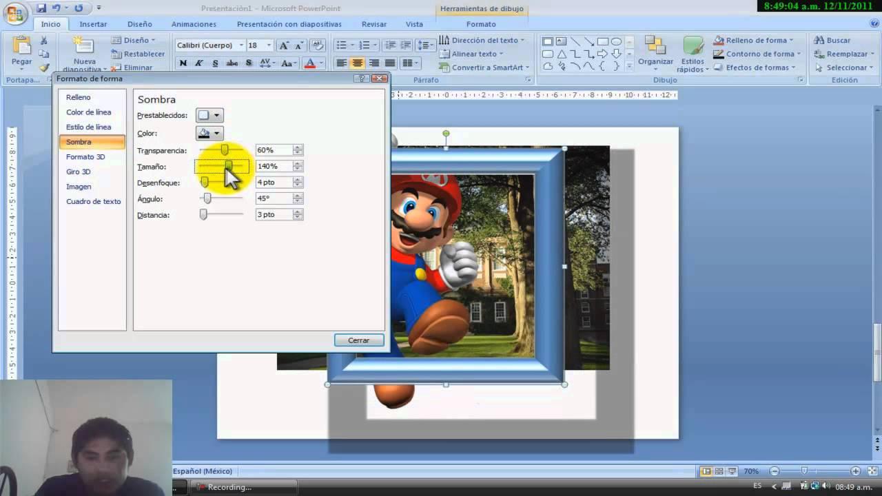 Tuto 1.2.- Imagenes con Marco con Power Point - YouTube