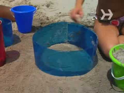 How To Build A Cool Sand Castle