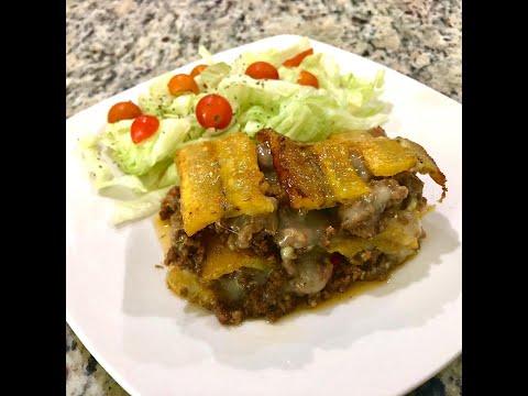 Puerto Rican Lasagna (Piñon Puertorriqueño)