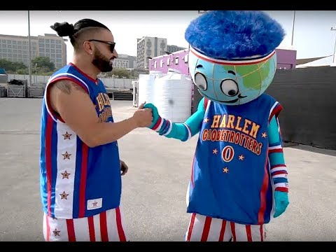 First Arab Man to Play in the Harlem Globe Trotters