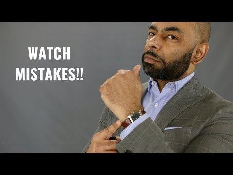 10 Biggest Mistakes Men Make Wearing Watches