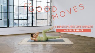 15 minute pilates core workout equipment needed: mat to get notified about new video uploads, subscribe well+good's channel: https://www./c/wel...