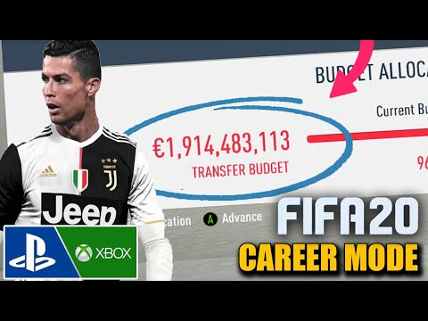 NEW UNLIMITED MONEY GLITCH (PS4, Xbox ONE) - FIFA 20 Career Mode (How to make Millions)