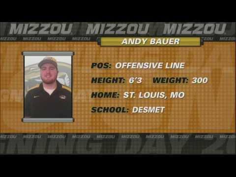 #MizzouMade:  Andy Bauer