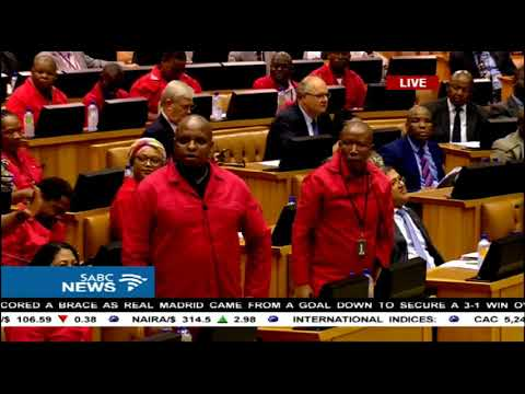 EFF interrupts president election proceedings