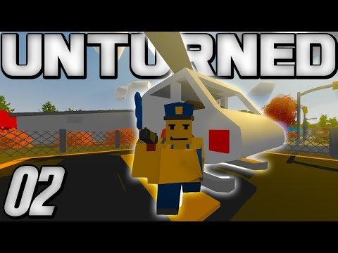 HOW TO FIND HELICOPTERS EASILY! - Unturned Gameplay - Episode 2