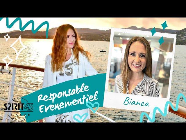Bianca CAPONI - Responsable Evènementiel - Travailler au Club Med