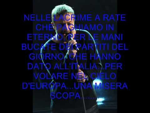 L'italia Marco Masini (2009) live sanremo