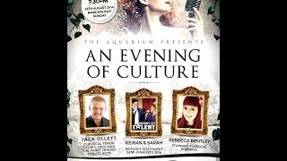 An Evening of Culture - Jack Ollett - In Her Eyes - The Aquarium 24/08/2014
