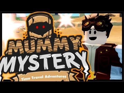 Roblox MUMMY MYSTERY EGYPT ADVENTURE! | Roblox Time Travel Adventures