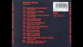 Gary Moore - We Want Moore! - Shapes of things Live   (Lyrics/Traducción)
