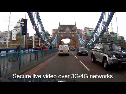 KBC Secure, live video over 3G/4G
