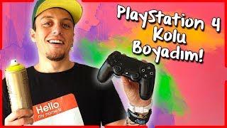 PlayStation Kolu Boyadım!