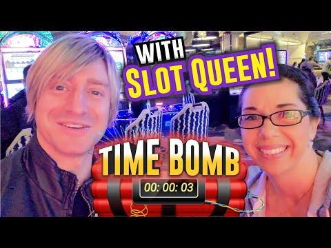 TIME BOMB⏰🧨 With SLOT QUEEN! 🎰 👸🏼