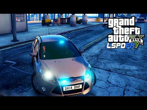 UNMARKED POLICE PATROL | GTA 5 PC LSPDFR | The British Way #129