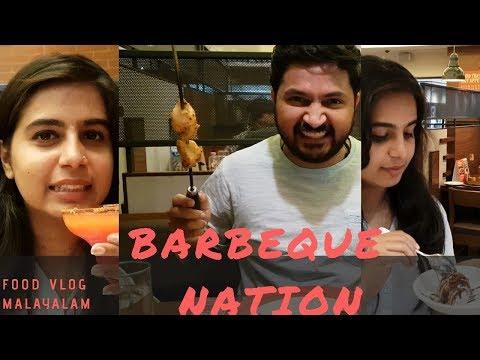 Barbeques @ Barbeque Nation | Abu Dhabi | Food Vlog Malayalam |