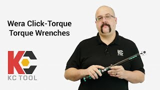 Wera Click-Torque Torque Wrenches, From KC Tool