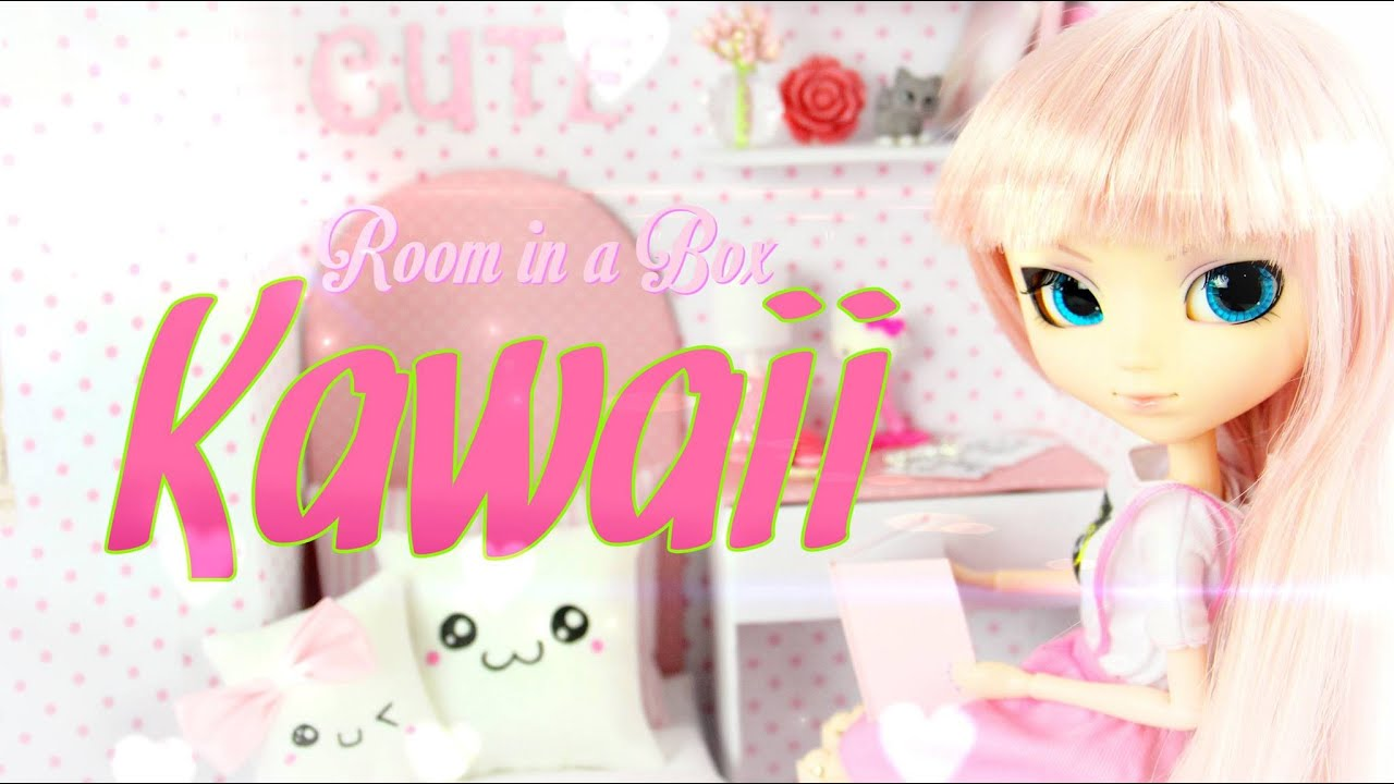 Cute Wallpapers For Girl Rooms Diy How To Make Doll Room In A Box Kawaii Handmade
