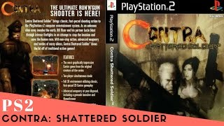 PS2 Longplay #1 Contra: Shattered Soldier