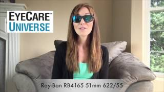 Ray Ban RB4165 51mm 622/55 Video Review