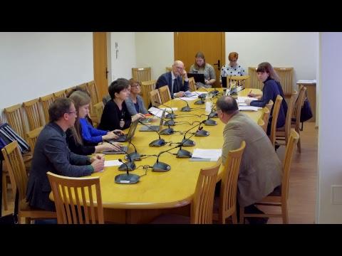 2018-11-05 Švietimo ir mokslo komiteto klausymai