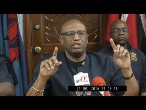 OWTU EMERGENCY PRESS CONFERENCE, PARAMOUNT BUILDING, SAN FERNANDO   30TH DECEMBER 2016