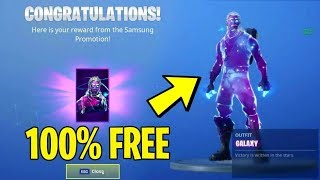 *Legit* HOW TO GET GALAXY SKIN *100% FREE* (No Clickbait) Fortnite Battle Royale Galaxy Skin