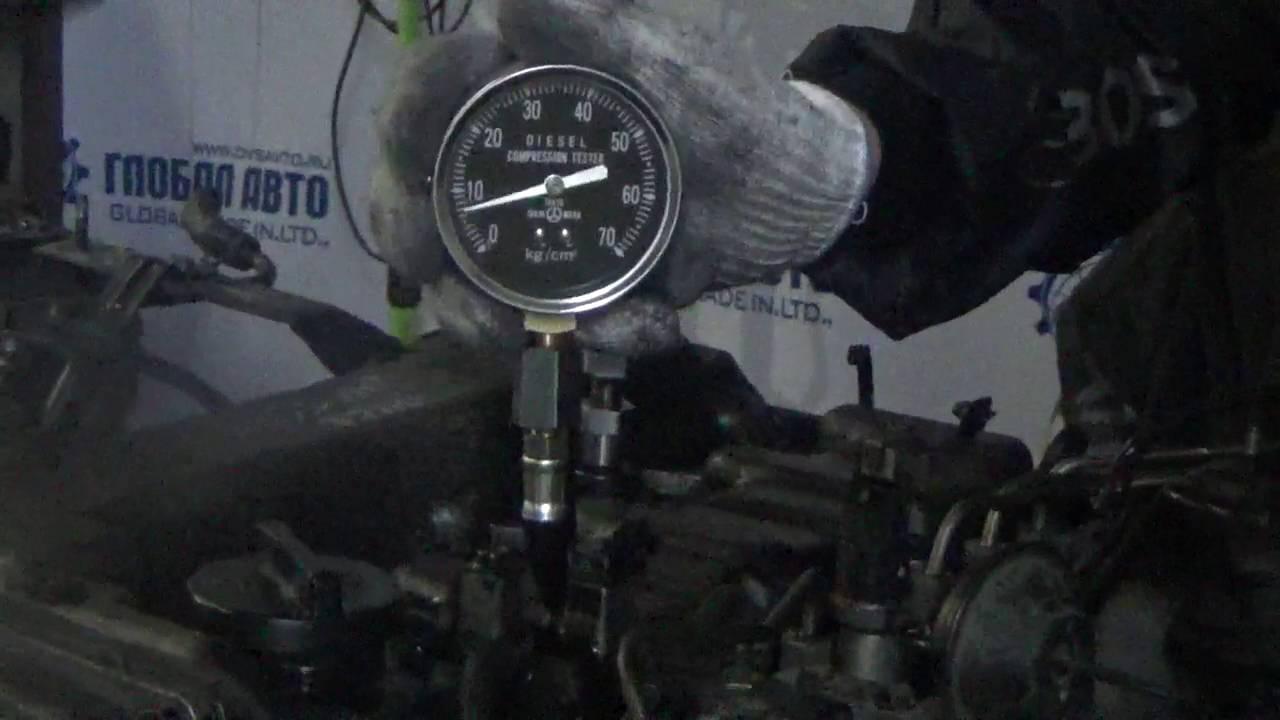 как проверить компрессию двигателя на портер фото