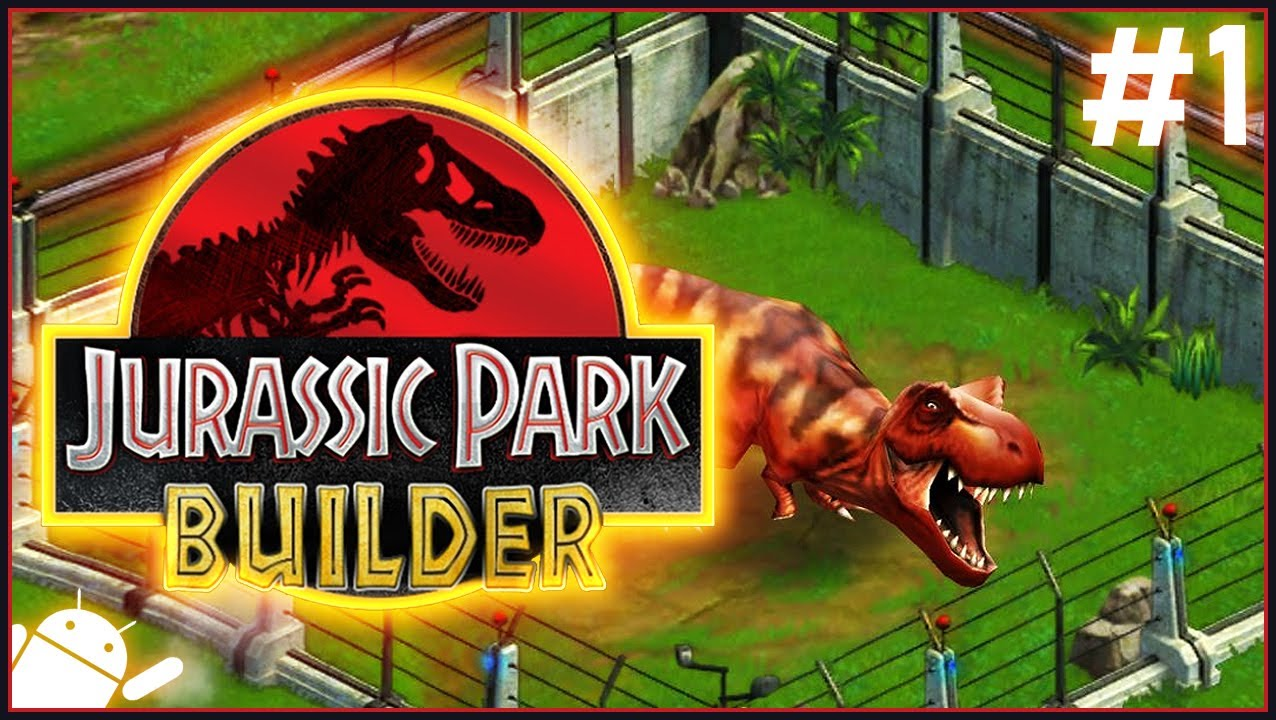 Jurassic Park Builder 1 Free To Play Dinosaurs Youtube