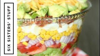 How To Make Layered Cobb Salad