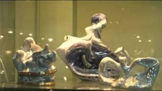 видео Музейный цех фарфора