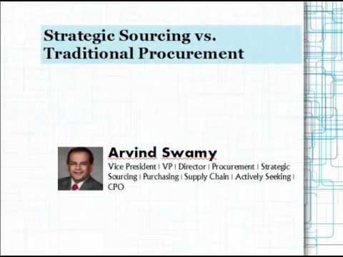 Strategic Sourcing vs. Traditional Procurement
