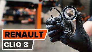 RENAULT CLIO III (BR0/1, CR0/1) Kerékcsapágy készlet beszerelése: ingyenes videó