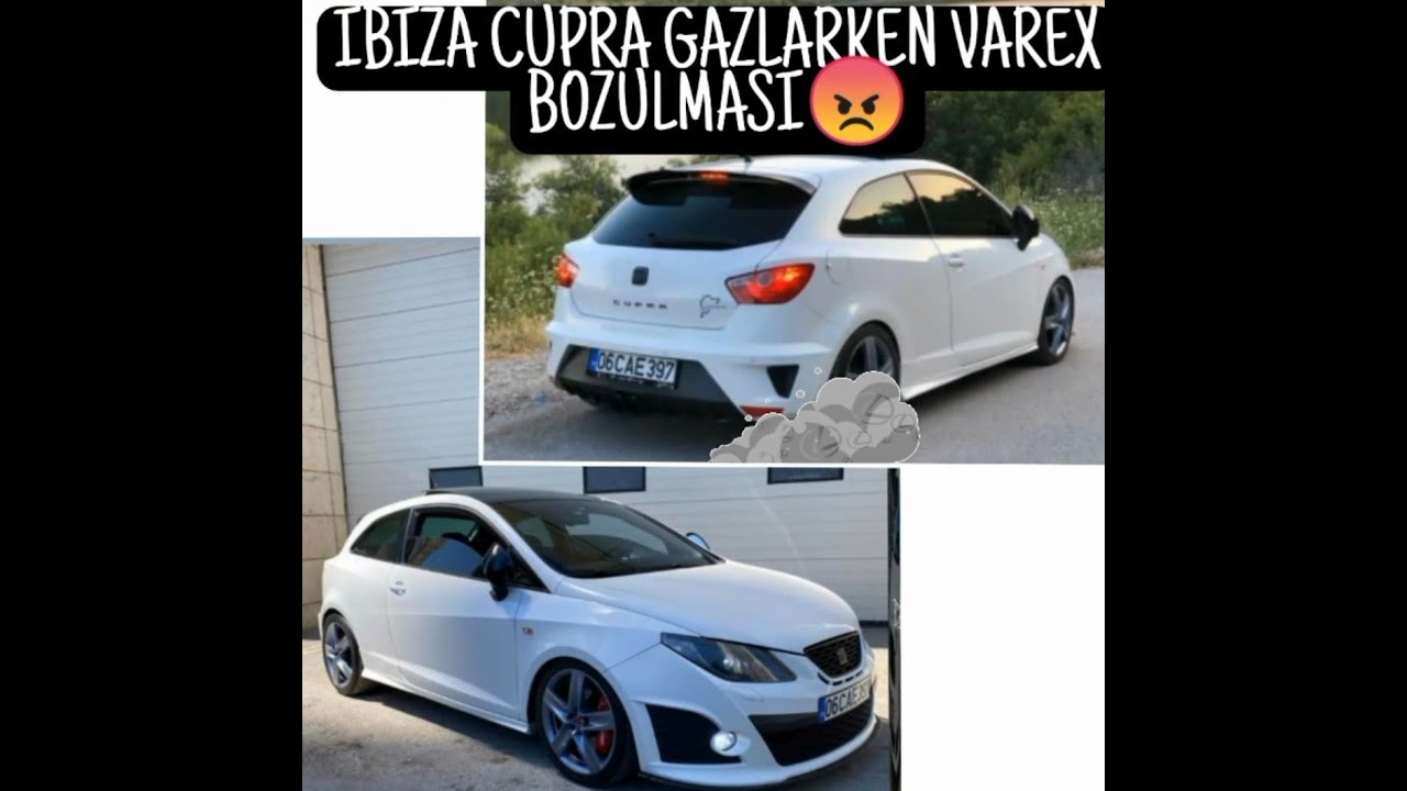 Seat ibiza cupra 6j 1.4 TSI DSG stage2+ pops and bangs crackles Hill climp