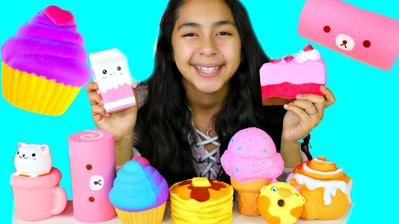 My Squishy Collection Ita : MY SQUISHY TOY COLLECTION SLOW RISING KAWAII SQUISHIES B2cutecupcakes - YouTube