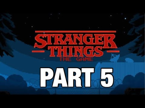 Stranger Things The Game! | Part 5. | Chapter 5 - Riddles In The Dark. ( Walkthrough iOS )