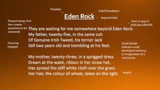 eden rock by charles causley gcse analysis