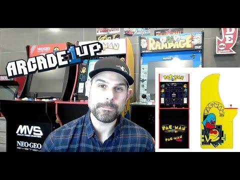 Arcade1up Pac-Man Mod