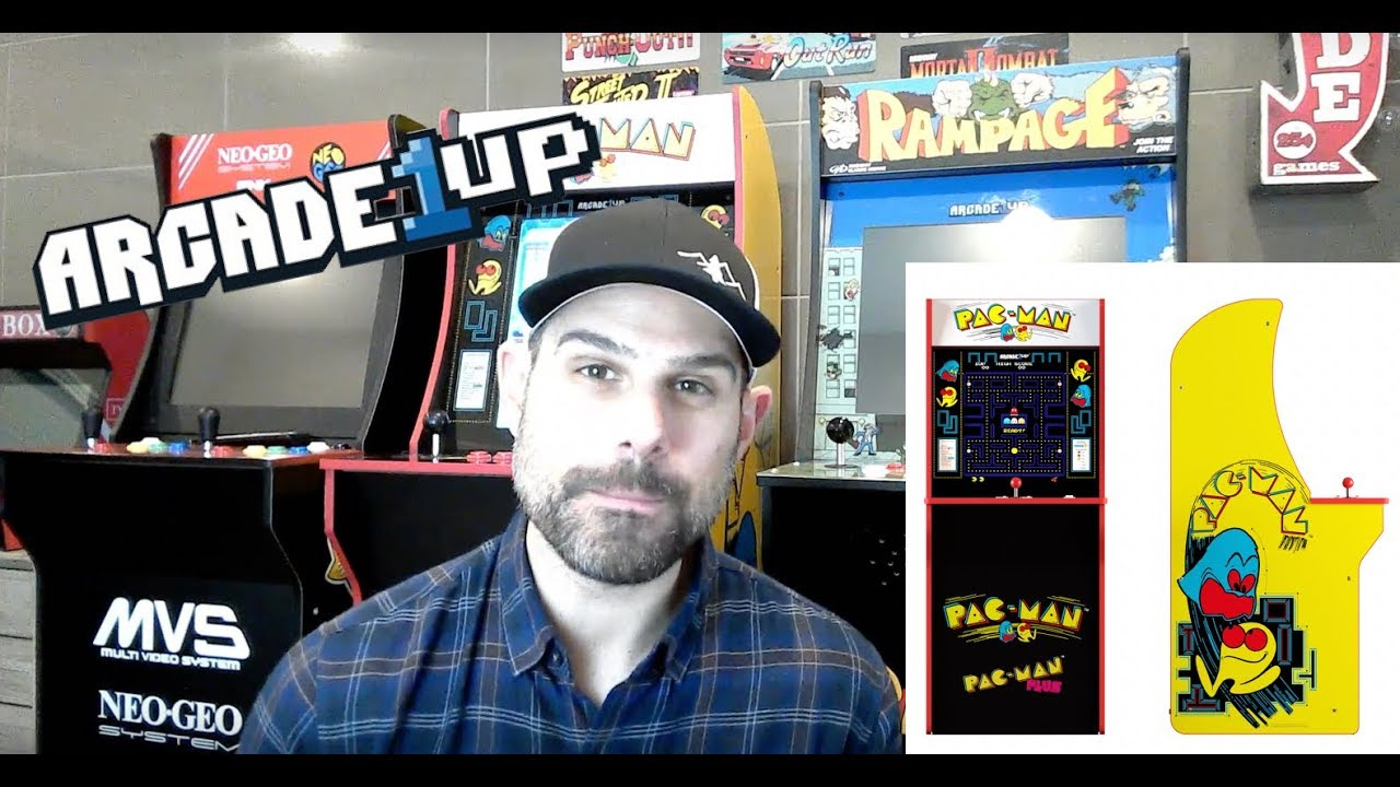 Arcade1up Pac-Man Mod