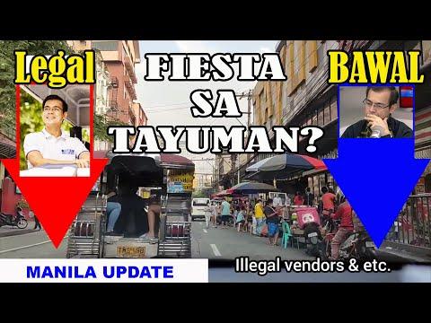 MGA ILLEGAL SA TAYUMAN | SILA ANG  DAHILAN | LEGAL AT BAWAL | MANILA UPDATE