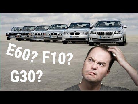 BMW Model Codenames Explained