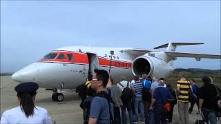 Flying Air Koryo's oldest and latest aircraft  IL-18 and An-148