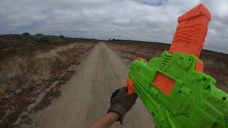 Nerf War First Person Shooter Desert Wasteland